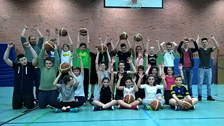 TV Breyell U14 Basketballer Kreismeister 2016