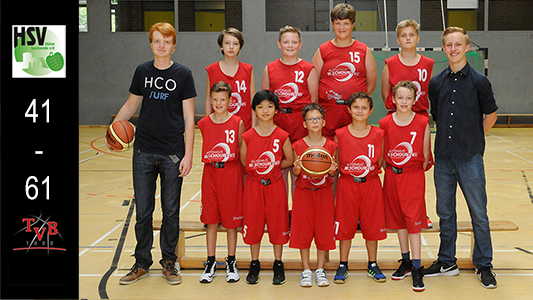 Tv Breyell U12 Basketball Team der Saison 2015/2016